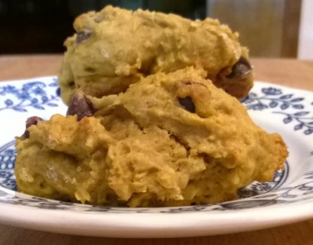 Ralph's Pumpkin Chocolate Chip Cookies